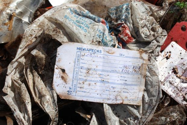 A única Central de galhos de Dourados, tomada de lixão, foi desativada - Crédito: Foto:  Hedio Fazan/PROGRESSO