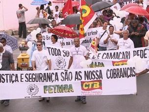Passeata pela paz em Camaçari  - Crédito: Foto: Everaldo Lins/ Arquivo Pessoal