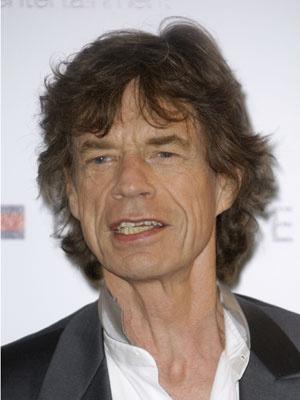 O roqueiro Mick Jagger - Crédito: Foto: AP