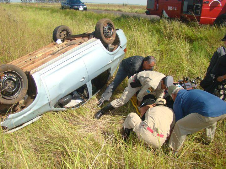 Motorista foi conduzido até o Pronto Socorro do Hospital Regional de Amambai - Crédito: Foto: Vilson Nascimento