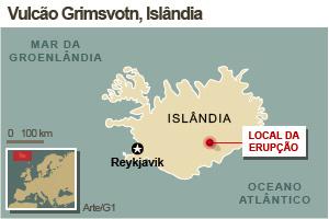 Islândia diz que vai reabrir aeroportos nesta segunda -