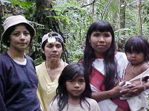 O primeiro contato do mundo externo com a tribo Amondawa ocorreu em 1986. - Crédito: Foto:Vera Silva Sinha