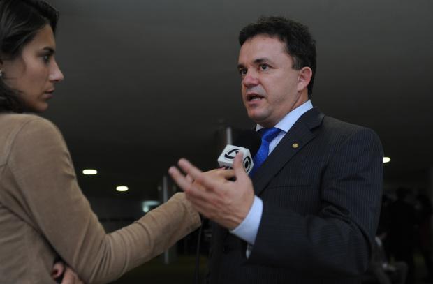 Vander Loubet diz que o PT quer comandar os principais cargos federais no Estado - Crédito: Foto : Brizza Cavalcante – Asgêncdia Câmara