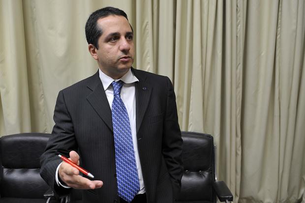Fernando Garrido, coordenador de Operações da Dívida Pública, divulga resultados - Crédito: Foto : Renato Araújo – Agência Brasil – Abr