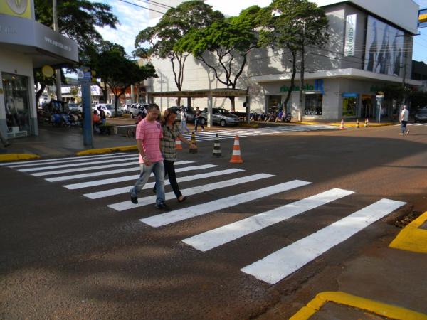 Melhorias no trânsito incluem sinalização, discussão sobre carretas e criação de Agência de Trânsito  Crédito: Assecom  -