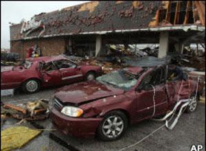 Tornado provocou destruição em Joplin - Crédito: Foto: AP