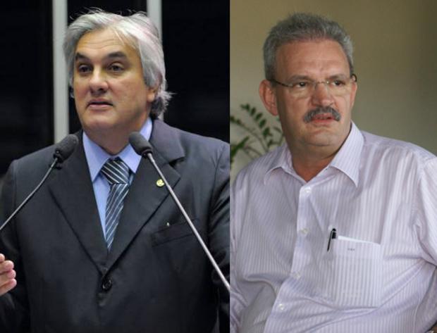 Delcídio do Amaral e Geraldo Resende negam recebimentos de propina - Crédito: Foto: Divulgação