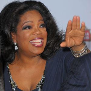 A apresentadora americana Oprah Winfrey - Crédito: Foto: Divulgação