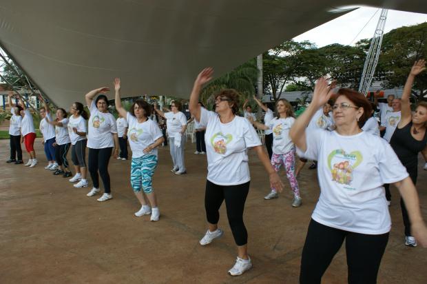 Atividades recreativas e manuais realizadas ontem ajudam a combater o estresse - Crédito: Foto: Hédio Fazan/PROGRESSO