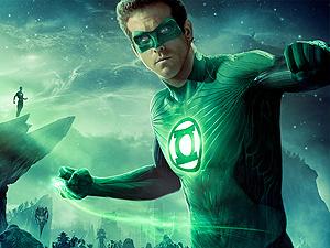 Ryan Reynolds interpreta Lanterna Verde  - Crédito: Foto: Divulgação