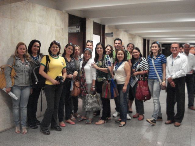 Delegação de MS que participa da convenção nacional do PSDB em Brasília - Crédito: Foto : Divulgação