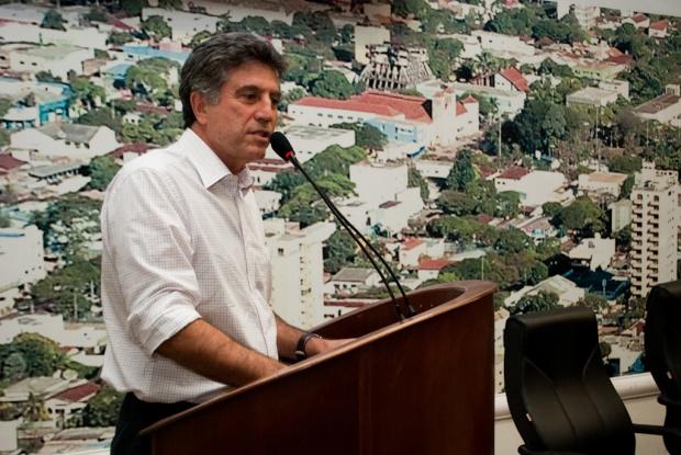 Prefeito Murilo Zauith participa de audiência sobre ferrovias - Crédito: Foto: Assecom