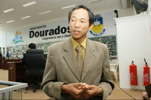 Vereador Ishy seria o nome mais cotado para possível candidatura do PT em Dourados - Crédito: Foto: Divulgação
