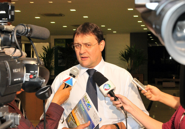 Sérgio Marcolino Longen vai presidir a Fiems pelo próximos quatro anos - Crédito: Foto : Divulgação
