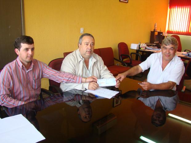 A devolução oficial do duodécimo aconteceu no último dia 18 no gabinete da presidência da Câmara - Crédito: Foto : Divulgação