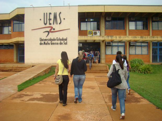Uems deve oferecer  2.350 vagas distribuídas em 52 cursos dos campi em MS - Crédito: Foto: Arquivo