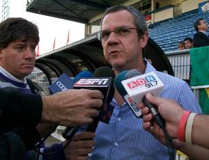 Antônio Vicente Martins, vice de futebol do Grêmio  - Crédito: Foto: Eduardo Cecconi/Globoesporte.com