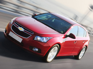 Chevrolet Cruze Hatch - Crédito: Foto: Divulgação