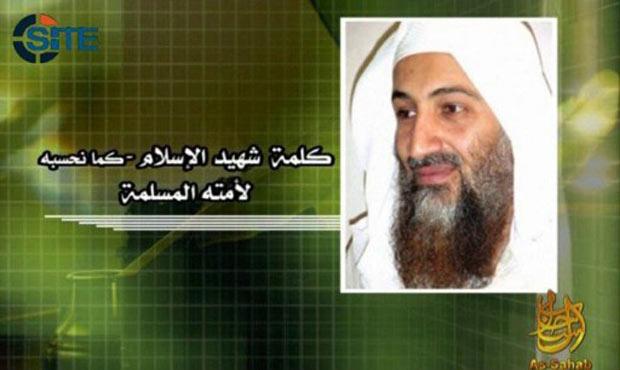 Imagem divulgada pelo serviço de monitoramento SITE mostra reprodução de fórum jihadista que publicou o último áudio de Bin Laden em 18de maio - Crédito: Foto: AFP