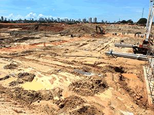 Arena Pantanal, novo estádio para a Copa de 2014 em Cuiabá - Crédito: Foto: Lenine Martins/Secom-MT