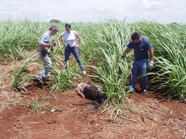 O assassinato aconteceu no dia 3 de dezembro do ano passado foto: Sidnei Lemos - Bronka -