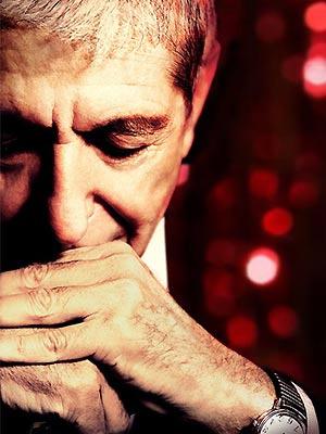 O cantor canadense Leonard Cohen  - Crédito: Foto: Divulgação