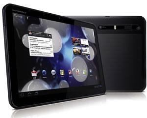 Tablets fabricados no Brasil, como o Xoom, da Motorola, terão que cumprir alguns critérios para se beneficiarem das isenções - Crédito: Foto: Divulgação