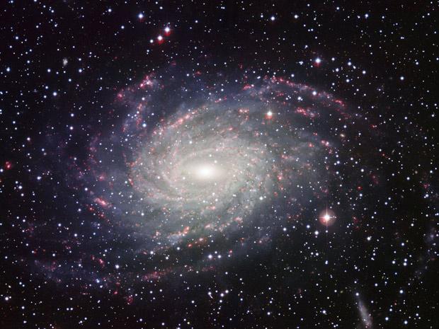 Telescópio do ESO mostra a galáxia NGC 6744, a 30 milhões de anos-luz de distância da Terra. - Crédito: Foto: ESO