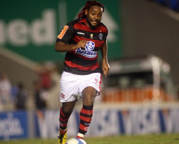 Vagner Love, atacante do Flamengo - Crédito: Foto: Maurício Val/VIPCOMM
