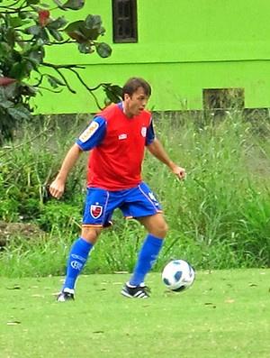 Pet está ansioso para o jogo de domingo  - Crédito: Foto: Janir Júnior / Globoesporte.com