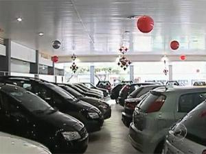 Vendas de carros em maio apresentaram alta  - Crédito: Foto: Reprodução/TV Globo