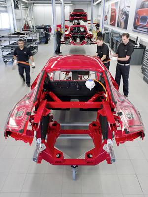 Audi R8 e-tron será o primeiro modelo elétrico da Audi - Crédito: Foto: Divulgação