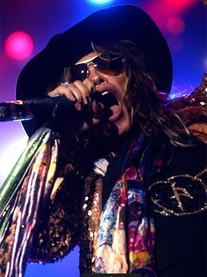 O vocalista Steven Tyler, do Aerosmith, em SP  - Crédito: Foto: Daigo Oliva/G1
