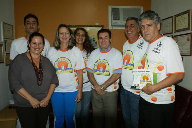 Equipe 'Laranja Madura' tem como candidato à presidente Eudélio Almeida - Crédito: Foto: Divulgação