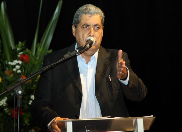 Governador André Puccinelli vai entregar obras hoje em dois municípios da região - Crédito: Foto : Rachid Waqued