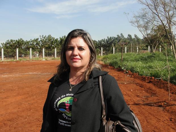 Secretária Municipal de Meio Ambiente, Valdenise Carbonari - Crédito: Foto : Eliezer Ricardo