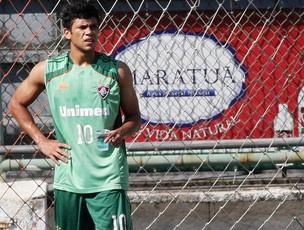 Ciro já treina nas Laranjeiras há quase duas semanas - Crédito: Foto: Rafael Moraes / Photocamera