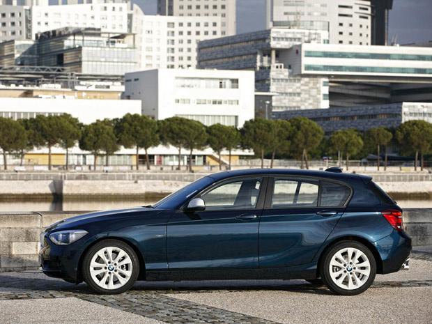 BMW Série 1 ganha nova geração - Crédito: Foto: Divulgação