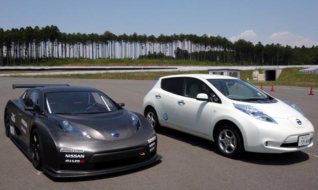 Nissan Leaf Nismo RC - Crédito: Foto: Koji Sasahara/AP