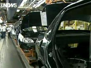 Produção de veículos passa de 1,4 milhão no acumulado do ano - Crédito: Foto: Reprodução/Globo News