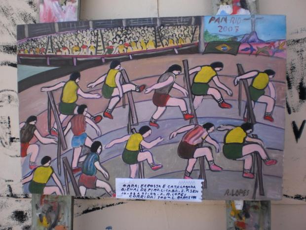 Artista Ramon Lopes se dedica a arte Naïf - Crédito: Foto : Divulgação