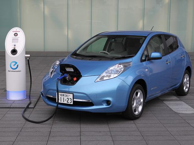 Nissan Leaf ajuda a reforçar a imagem da marca no Brasil - Crédito: Foto: Divulgação