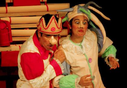 """""""O Rei que não Sabia Rir"""" integra programação do Circuito de Teatro - Crédito: Foto: Divulgação"""