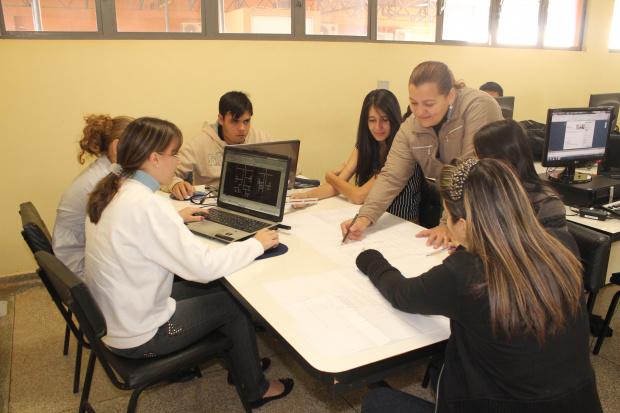 Arquitetos e alunos da Unigran ajudam instituições filantrópicas adequar espaços - Crédito: Foto :  Divulgação