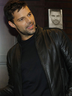 O cantor Ricky Martin - Crédito: Foto: Reuters