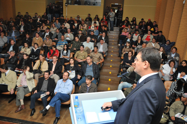 Sergio Longen anuncia investimentos para Dourados no Sesi e Senai Foto: Ademir Almeida -