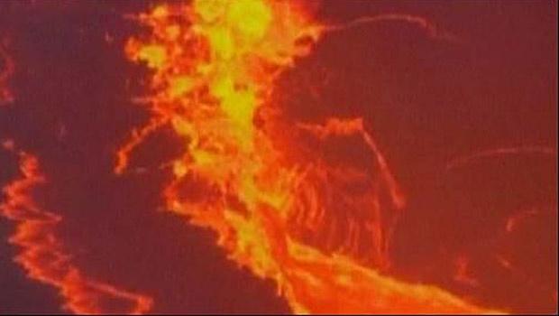 Vulcão entra em erupção no Havaí -