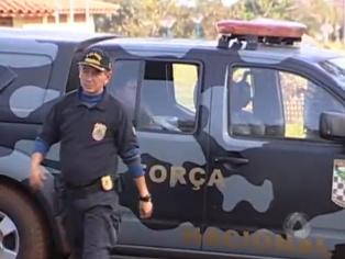 PF apreende drogas e armas em aldeias indígenas de Dourados -