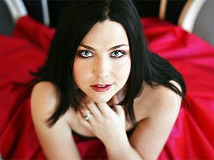 Amy Lee, vocalista da banda Evanescence  - Crédito: Foto: Divulgação
