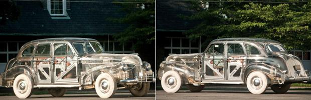 Pontiac transparente vai a leilão em julho - Crédito: Foto: Divulgação/RM Auction